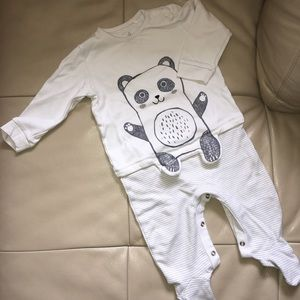 Next Direct Panda Sleepsuit